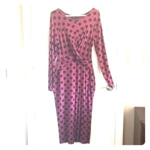 ASOS Polka dot maternity dress